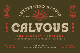 Print on Demand: Calvous Serif Font By letterhend