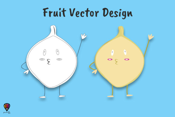Download Free Cartoon Jicama Vector Illustration Graphic By Printablesplazza for Cricut Explore, Silhouette and other cutting machines.