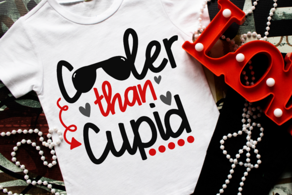 Download Free Cooler Than Cupid Graphic By Morgan Day Designs Creative Fabrica for Cricut Explore, Silhouette and other cutting machines.