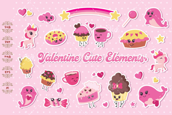 Cute Element Graphic Crafts By AllmoStudio
