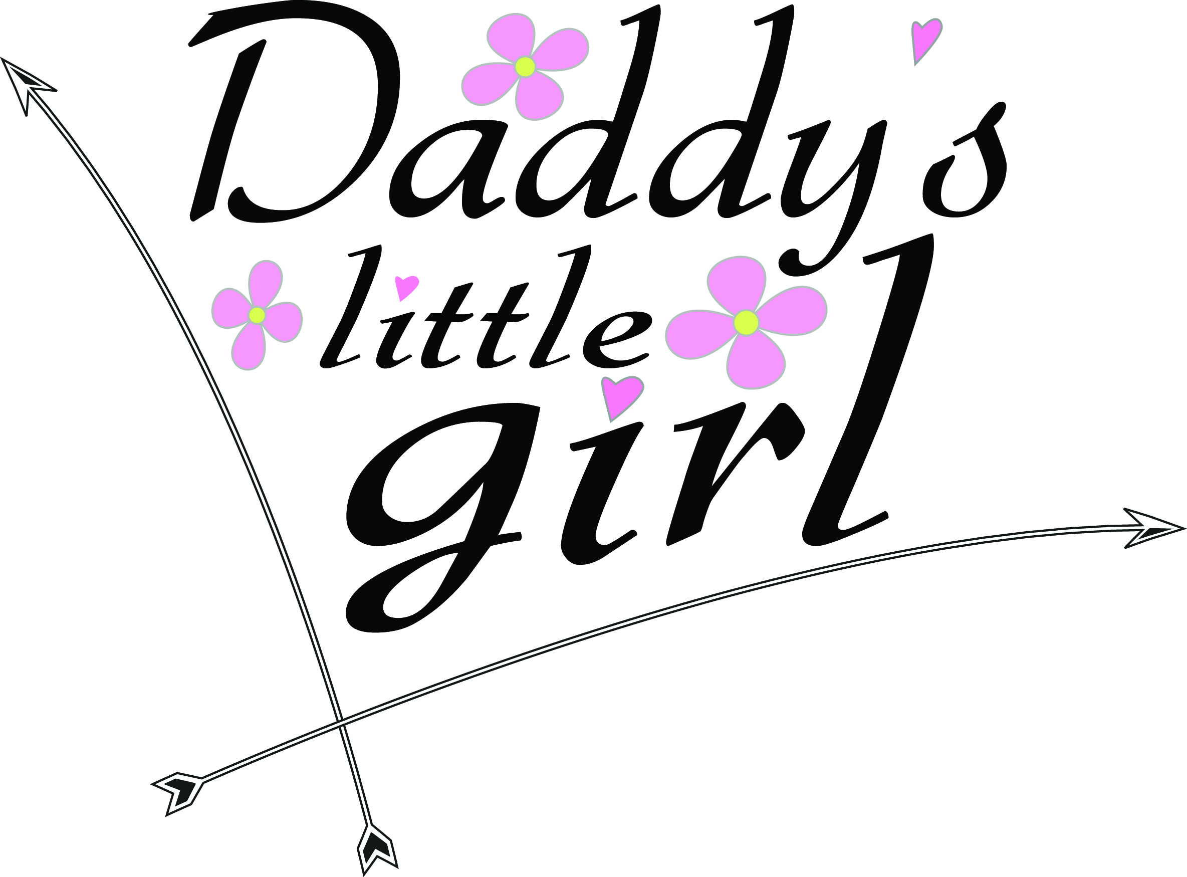 Download Free Daddy S Little Girl Creative Fabrica for Cricut Explore, Silhouette and other cutting machines.