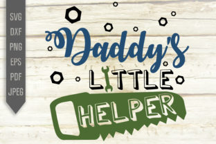 Download Free Daddy S Little Helper Svg Baby Boy Svg Graphic By Svglaboratory for Cricut Explore, Silhouette and other cutting machines.
