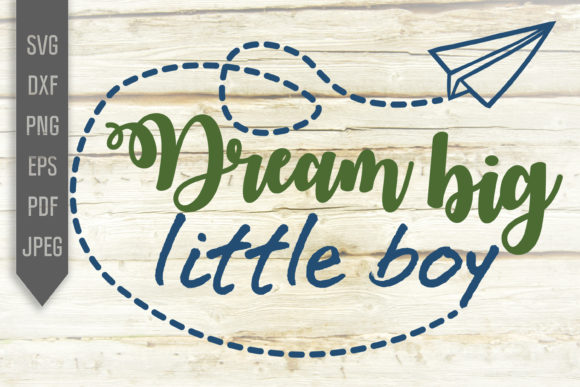 Download Free Dream Big Little Boy Svg Dreamer Design Graphic By SVG Cut Files