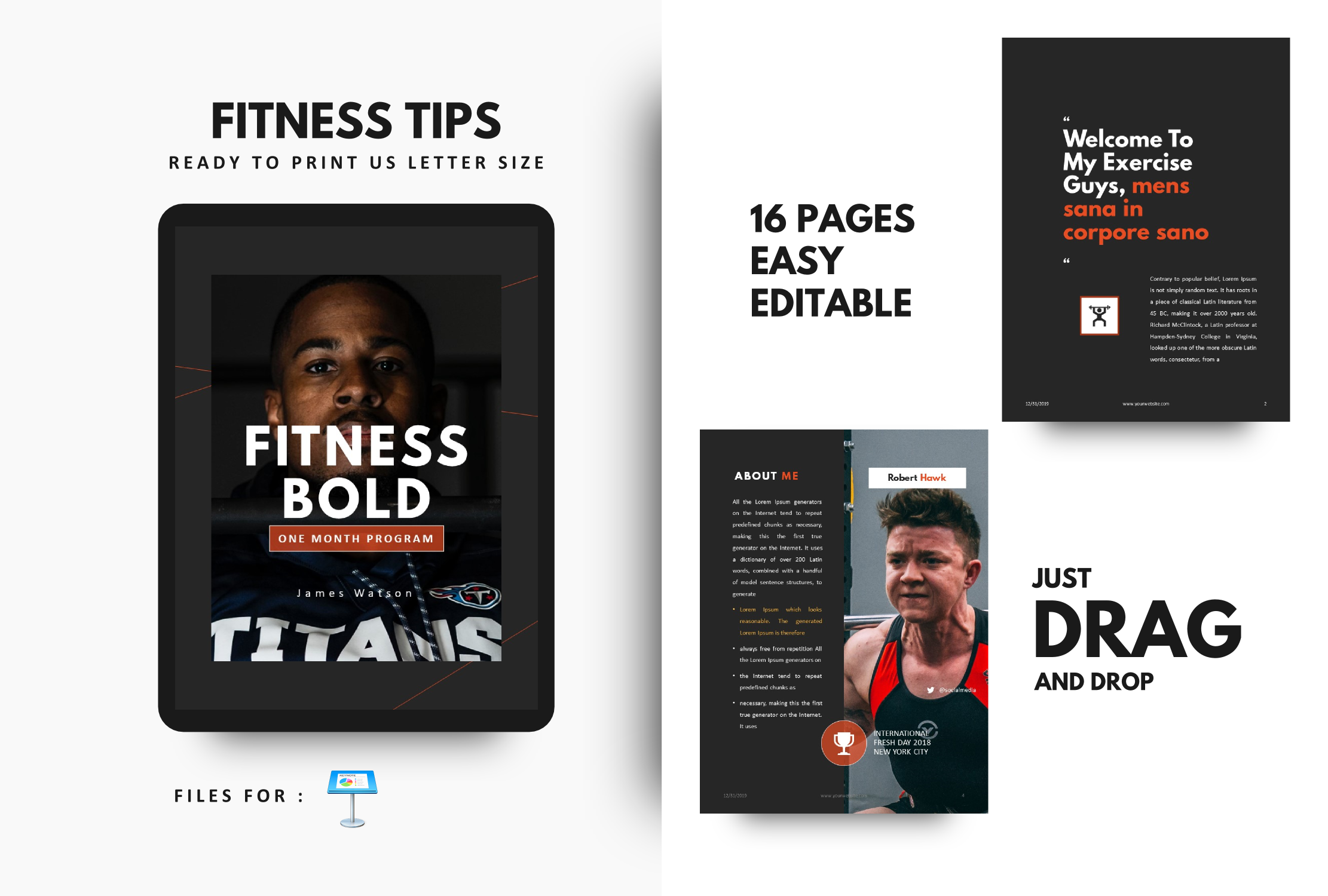 Download Free Fitness Bodybuilding Motivation Template Grafico Por Rivatxfz SVG Cut Files