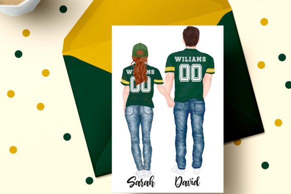 Football Jerseys, Jersey Clipart BFF Graphic Illustrations By LeCoqDesign - Image 6