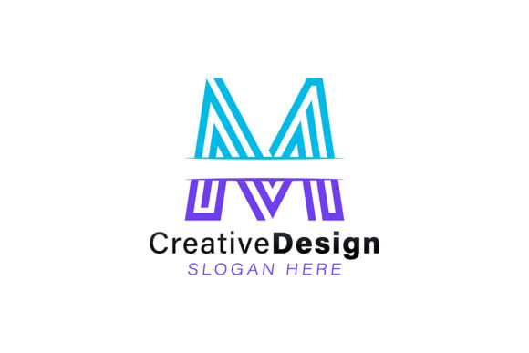 Initial Letter M Modern Logo Ideas Insp Graphic By
