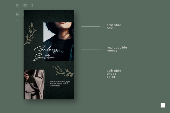 Print on Demand: Instagram Story Template Graphic Graphic Templates By ovoz.graphics - Image 5