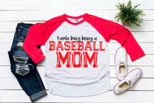 Download Free Kinda Busy Being A Baseball Mom Svg For Graphic By Svgsupply for Cricut Explore, Silhouette and other cutting machines.