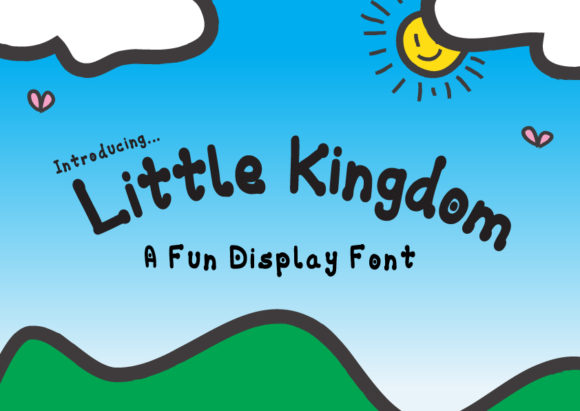 Print on Demand: Little Kingdom Display Font By GraphicsBam Fonts