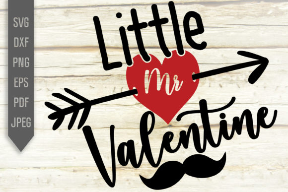 Download Free Little Mr Valentine Svg Shirt Design Graphic By Svglaboratory for Cricut Explore, Silhouette and other cutting machines.