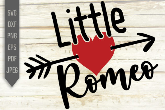 Download Free Little Romeo Valentine S Boy Design Graphic By Svglaboratory for Cricut Explore, Silhouette and other cutting machines.