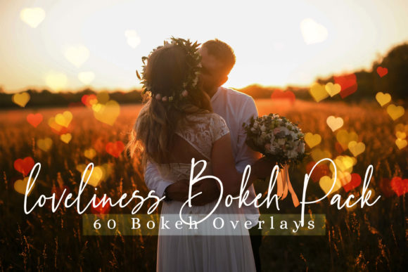 Download Free Loveliness Bokeh And Lights Effect Overlay Graphic By 3motional for Cricut Explore, Silhouette and other cutting machines.