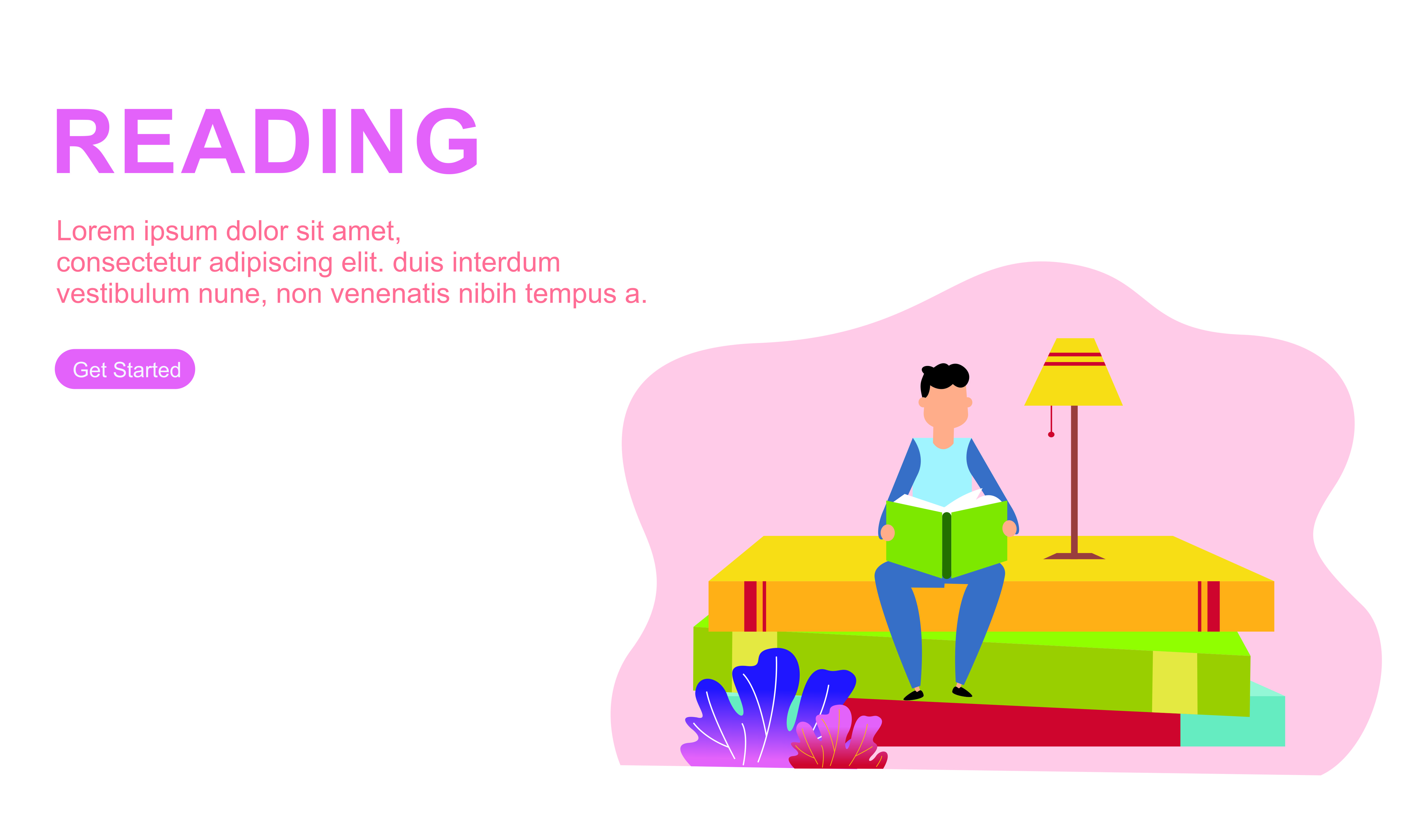 Download Free Male Enjoying Their Hobbies Reading Logo Graphic By 2qnah for Cricut Explore, Silhouette and other cutting machines.