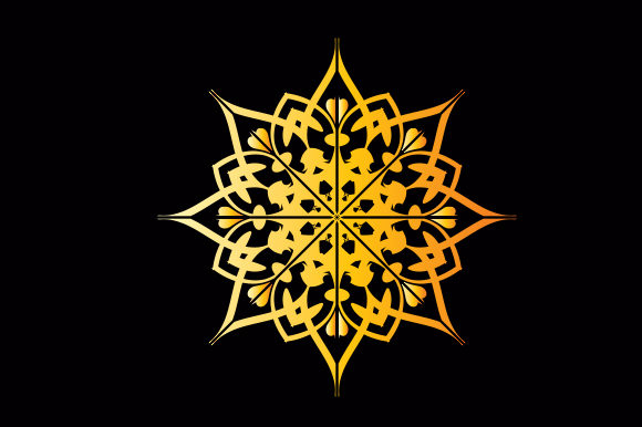 Download Free Mandala Graphic Design Graphic By Studioluckee Creative Fabrica for Cricut Explore, Silhouette and other cutting machines.