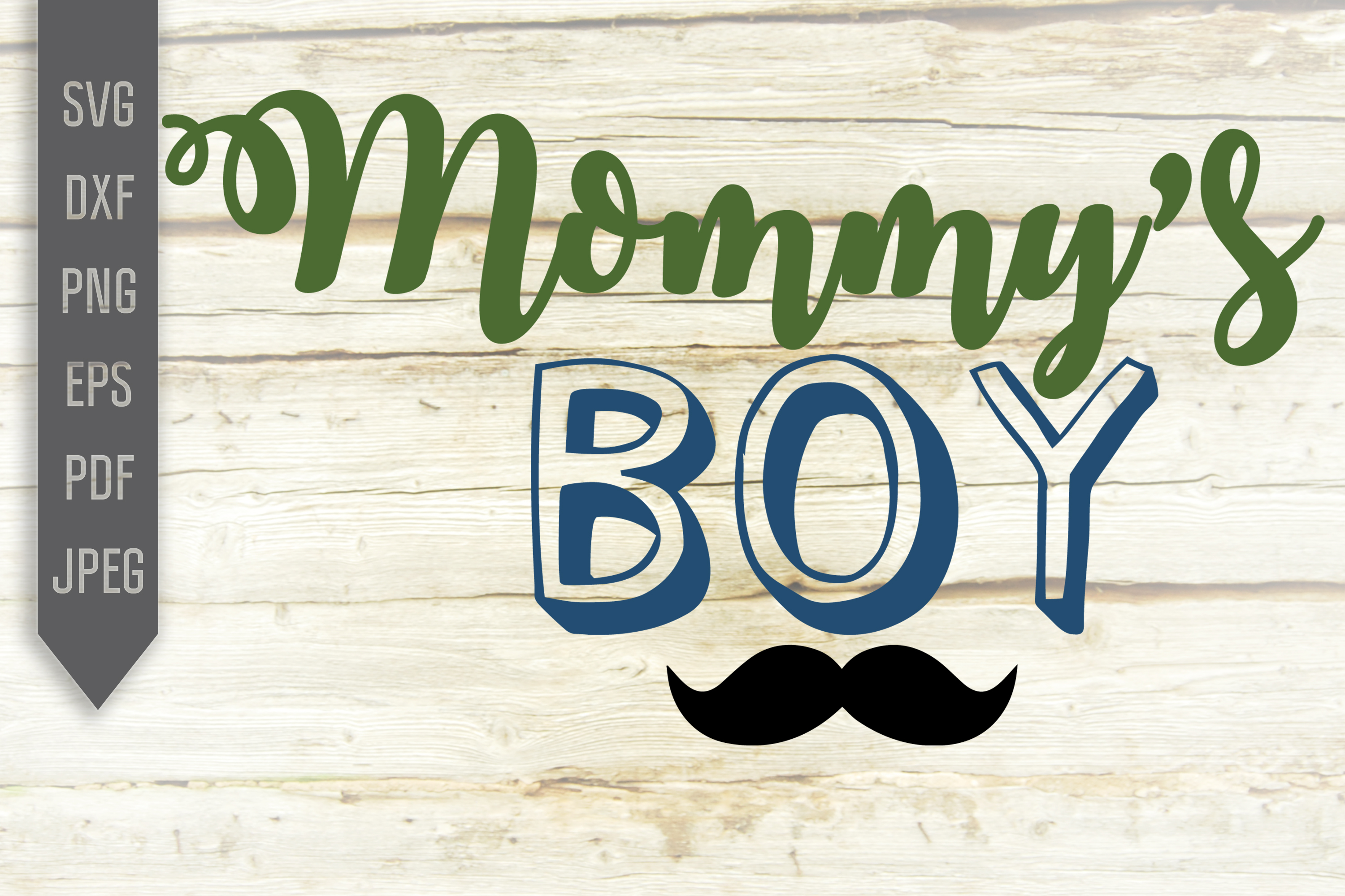 Download Free Mommy S Boy Cricut Silhouette File Graphic By Svglaboratory for Cricut Explore, Silhouette and other cutting machines.