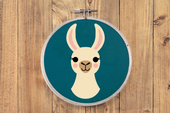Download Free Party Llama Graphic By Risarocksit Creative Fabrica for Cricut Explore, Silhouette and other cutting machines.