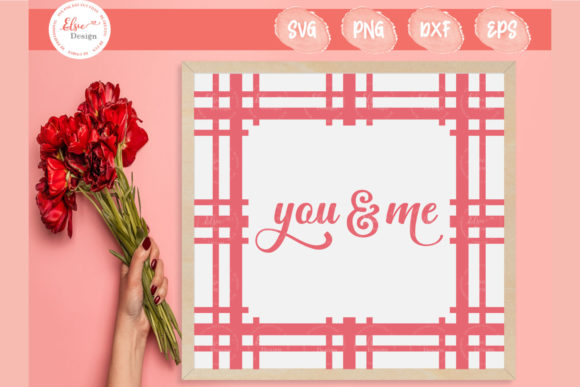 Plaid - You and Me Graphic Crafts By ElsieLovesDesign