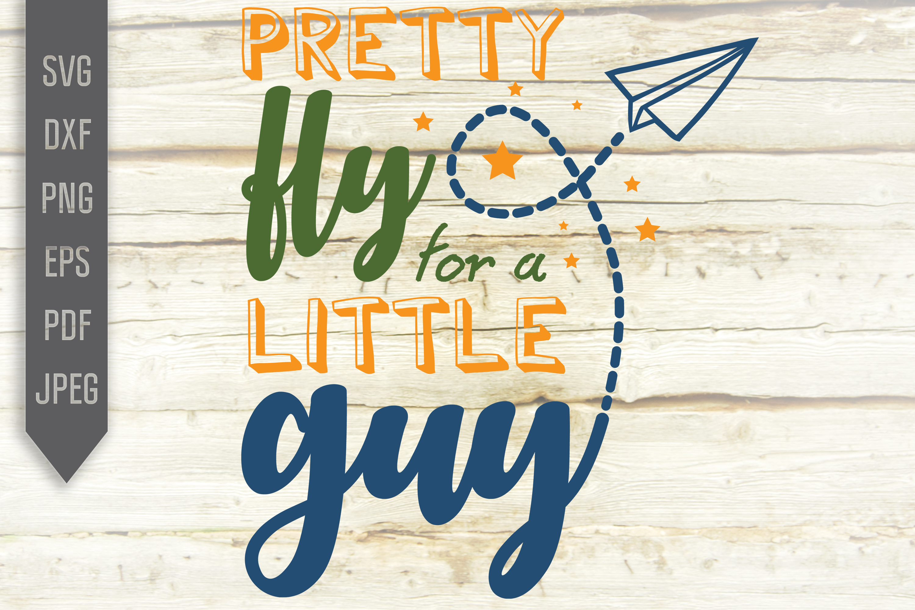 Download Free Pretty Fly For A Little Guy Svg Baby Graphic By Svglaboratory for Cricut Explore, Silhouette and other cutting machines.