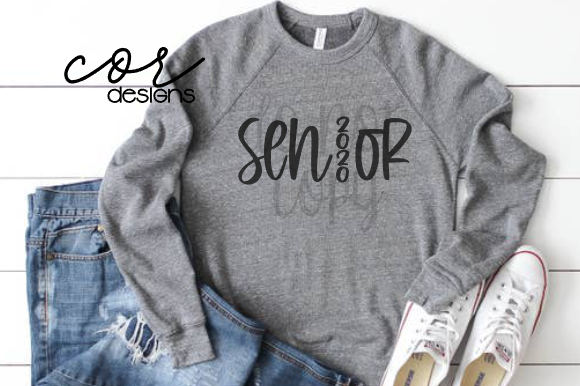 Download Free Senior 2020 Graphic By Designscor Creative Fabrica for Cricut Explore, Silhouette and other cutting machines.