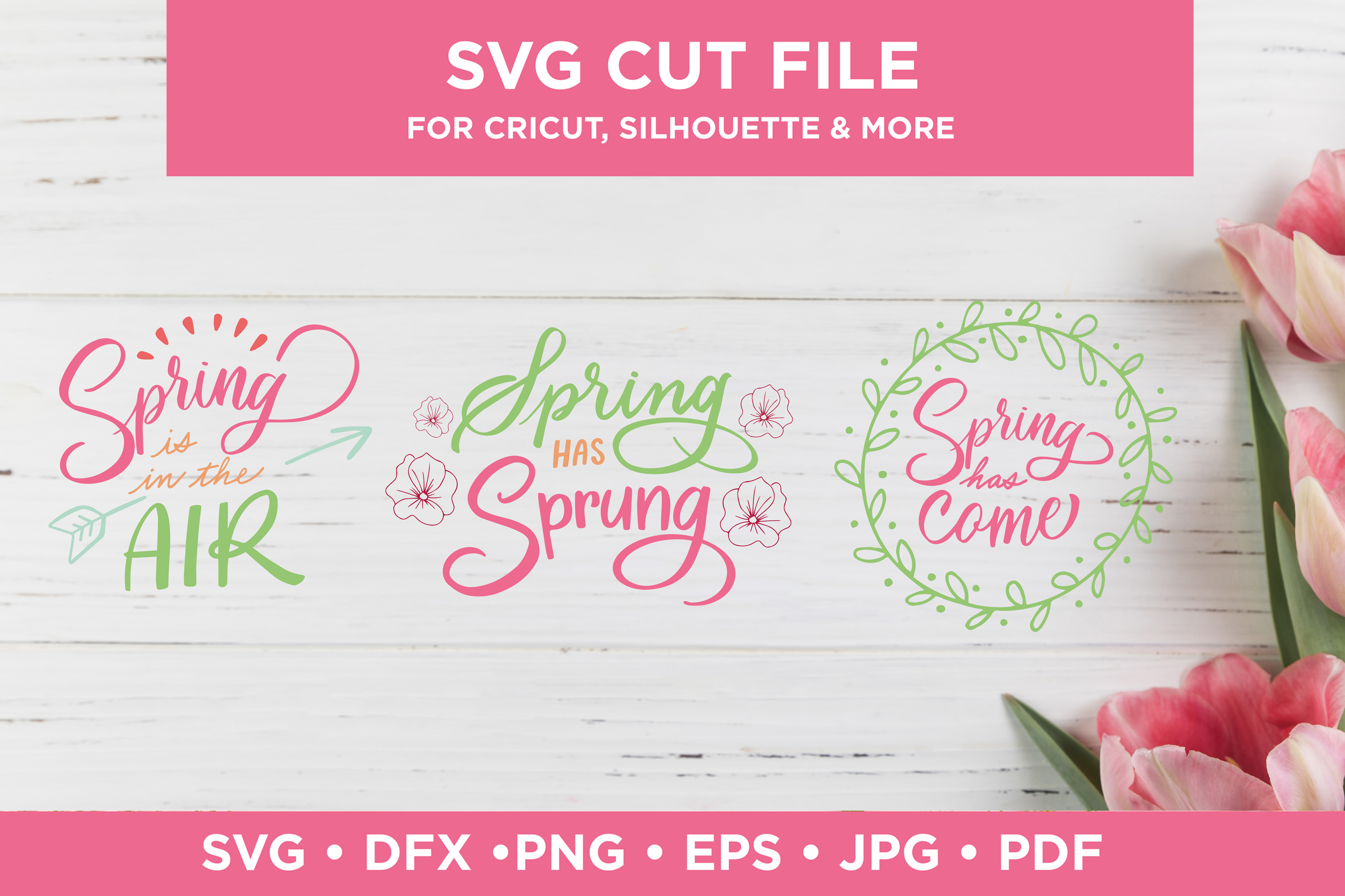 Download Free Spring Quotes Graphic By Scilla Corbelli Creative Fabrica SVG Cut Files