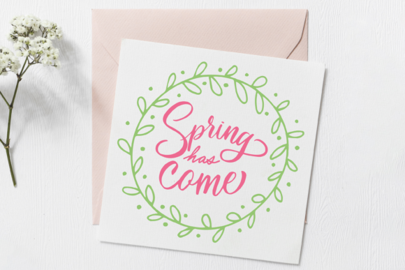Download Free Spring Quotes Graphic By Scilla Corbelli Creative Fabrica for Cricut Explore, Silhouette and other cutting machines.
