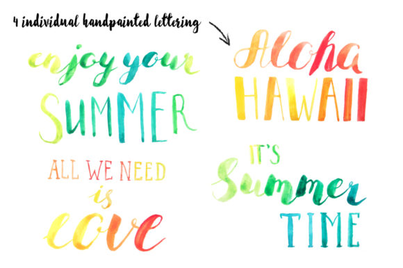 Download Free Summer Tropical Design Pack Vol 2 Graphic By Larysa Zabrotskaya for Cricut Explore, Silhouette and other cutting machines.
