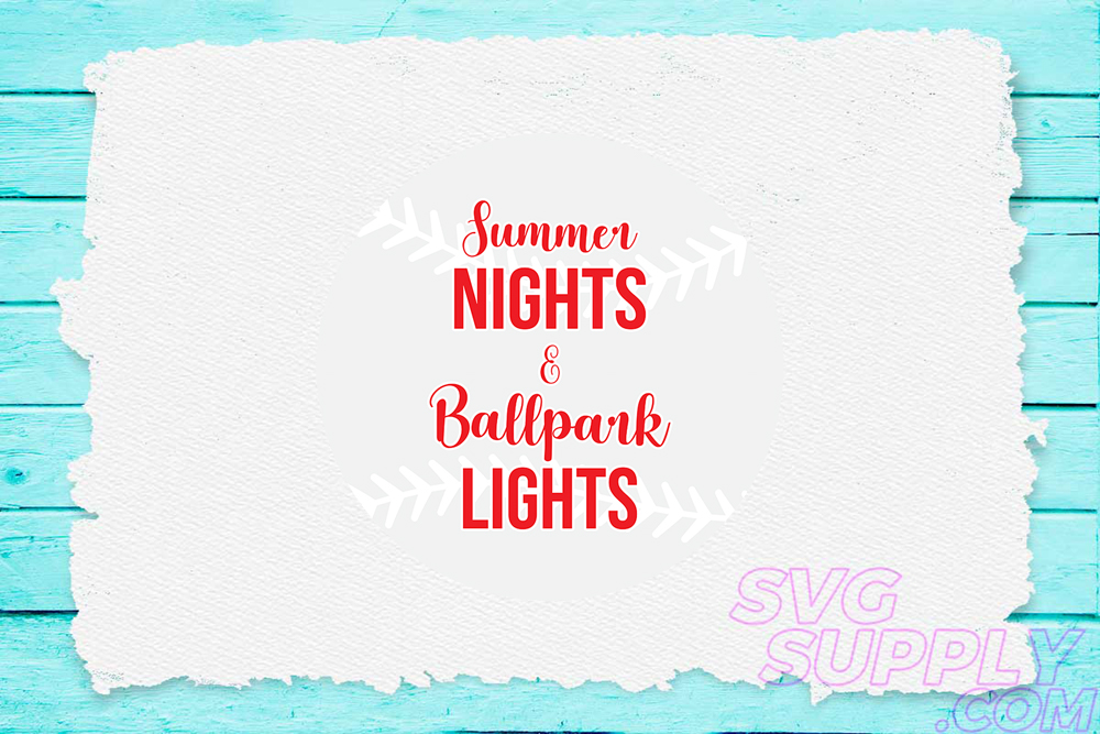 Download Free Summer Nights Ballpark Lights Svg For Graphic By Svgsupply Creative Fabrica for Cricut Explore, Silhouette and other cutting machines.