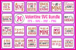 Print on Demand: Valentine's Day Bundle Graphic Crafts By GraphicsBooth