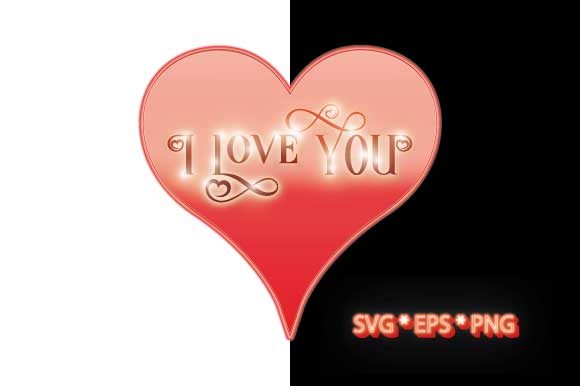 Download Free Valentines Heart I Love You With Lights Graphic By Graphicsfarm for Cricut Explore, Silhouette and other cutting machines.