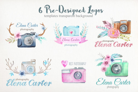 Watercolor Cameras Clip Art Graphic Illustrations By Larysa Zabrotskaya - Image 3