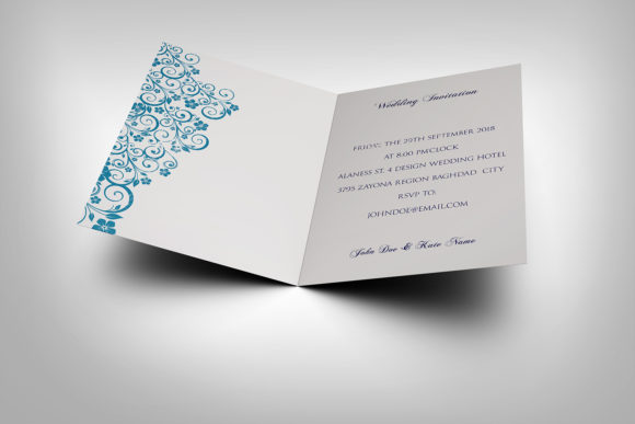 Download Free Wedding Invitation Card Template Graphic By Owpictures for Cricut Explore, Silhouette and other cutting machines.