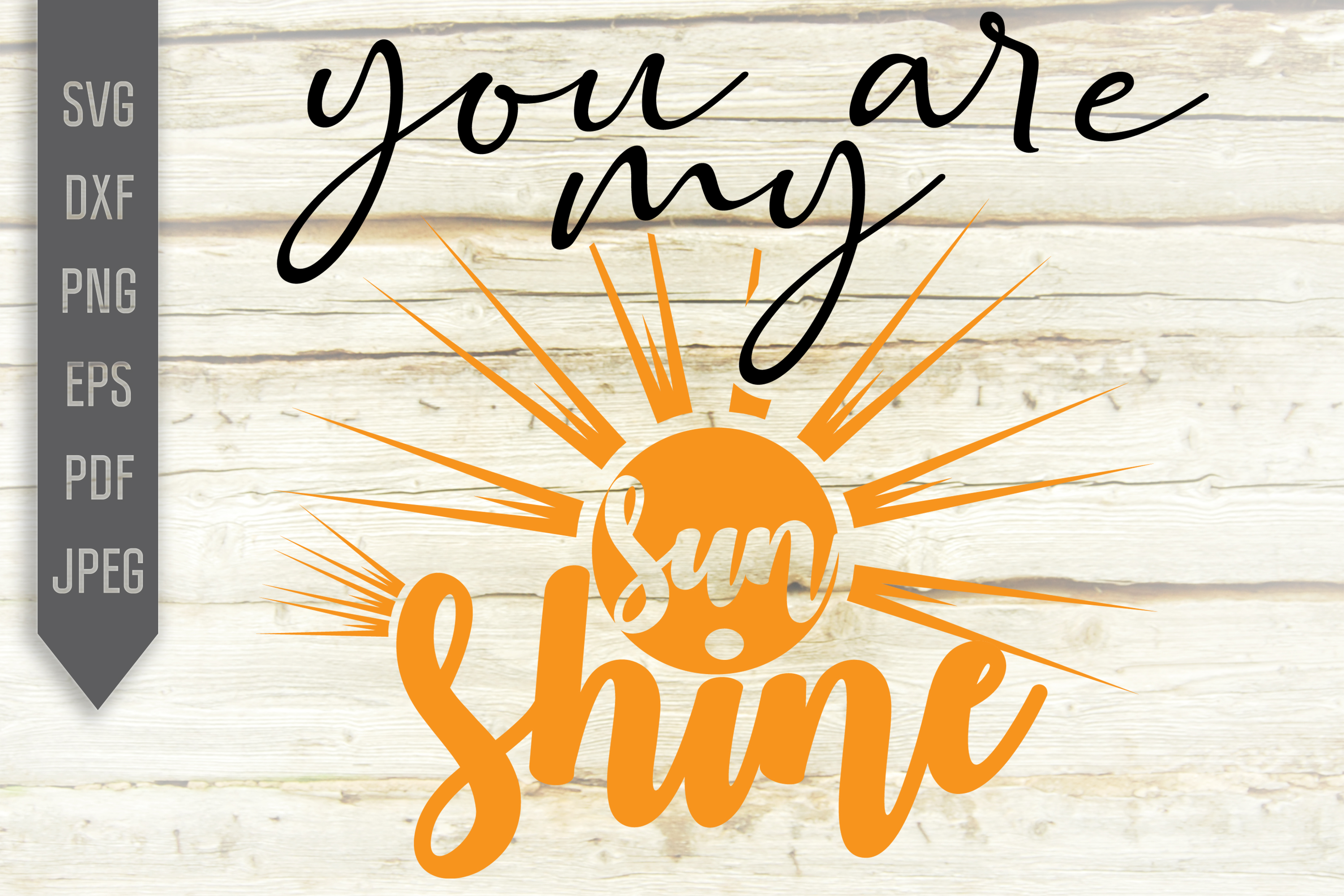 Download Free You Are My Sunshine Svg Cute Shirt File Graphic By for Cricut Explore, Silhouette and other cutting machines.