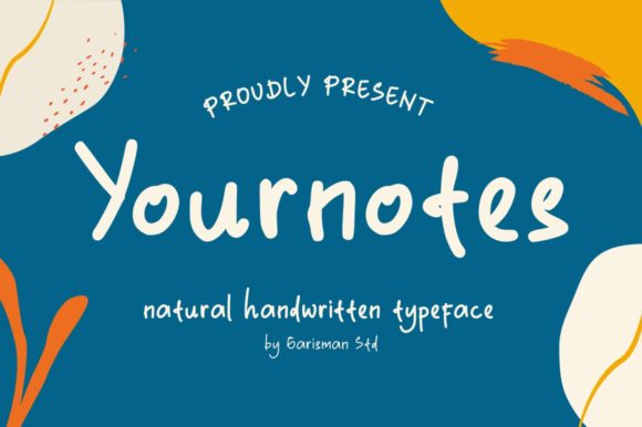 Print on Demand: Yournotes Display Font By Garisman Studio