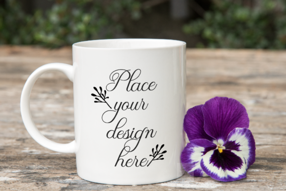 Print on Demand: 11 Oz Coffee Mug Mock Up Graphic Product Mockups By Leo Flo Mockups