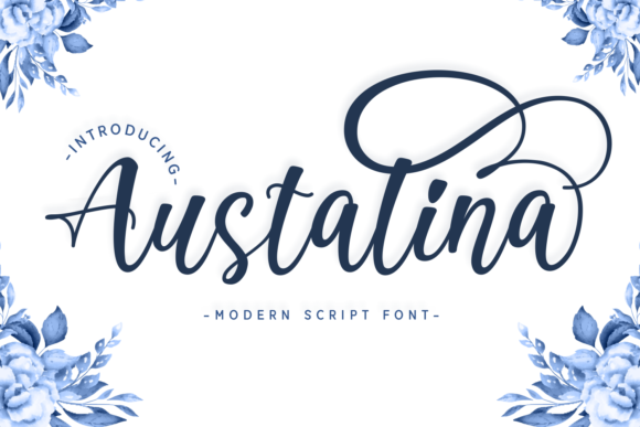 Print on Demand: Austalina Script & Handwritten Font By Dani (7NTypes)