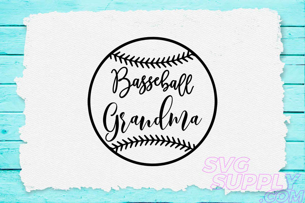 Download Free Baseball Grandma Graphic By Svgsupply Creative Fabrica for Cricut Explore, Silhouette and other cutting machines.