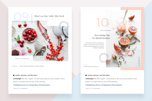 Download Free Canva Food Travel Instagram Posts Grafik Von Silverstag for Cricut Explore, Silhouette and other cutting machines.