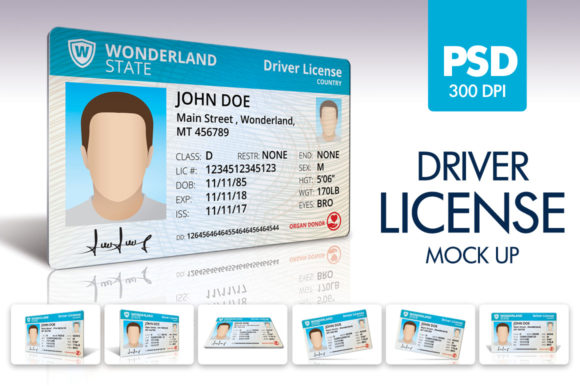 Download Free Driver License Mockup Graphic By Borisfarias Creative Fabrica for Cricut Explore, Silhouette and other cutting machines.