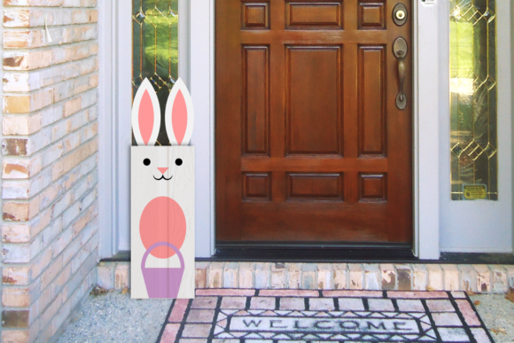 Easter Bunny Sign Graphic Crafts By RisaRocksIt