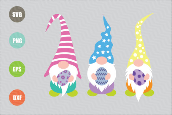 Easter Gnomes SVG Graphic Illustrations By logotrain034