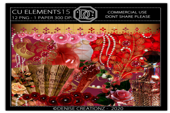 Elements 15 Graphic Crafts By Denise Creationz