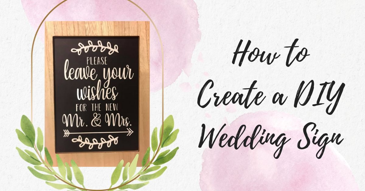 Download Free How To Create Your Own Wedding Sign Creative Fabrica for Cricut Explore, Silhouette and other cutting machines.