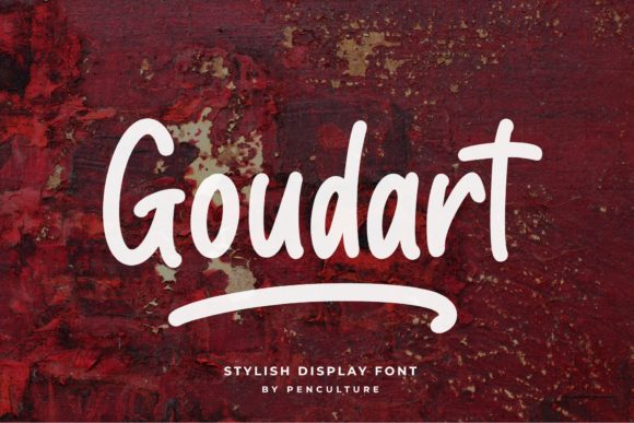 Print on Demand: Goudart Display Font By Pen Culture