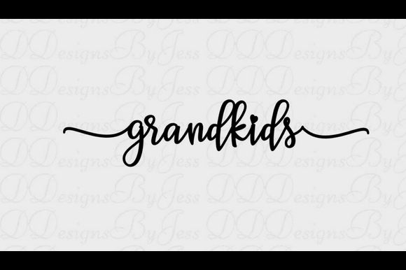 Download Free Grandkids Graphic Graphic By Dddesigns Creative Fabrica for Cricut Explore, Silhouette and other cutting machines.