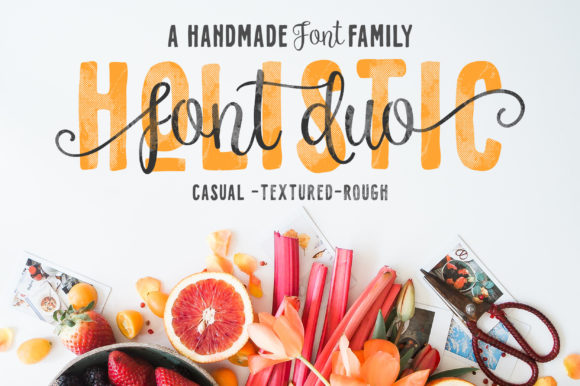 Print on Demand: Holistic Script & Handwritten Font By letrasupply