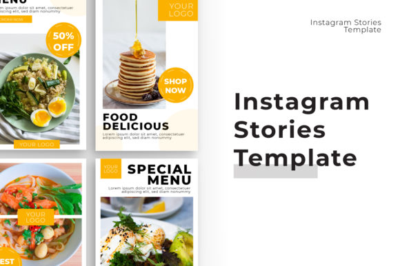 Instagram Stories Graphic Vol 1 Graphic Print Templates By OKEVECTOR - Image 3