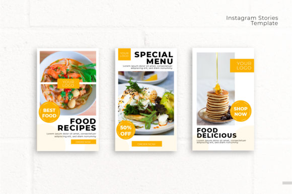 Instagram Stories Graphic Vol 1 Graphic Print Templates By OKEVECTOR - Image 4