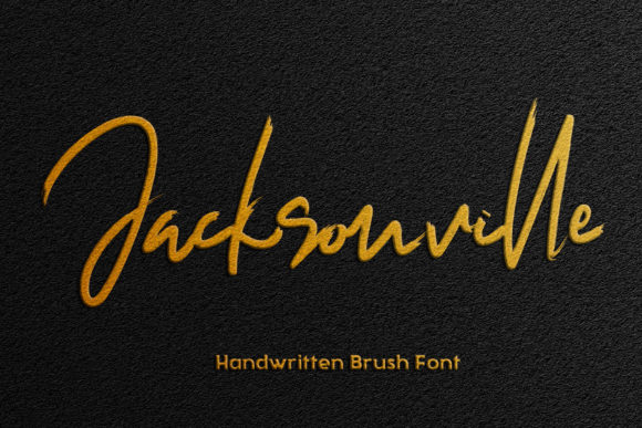 Print on Demand: Jacksonville Script & Handwritten Font By thomasaradea