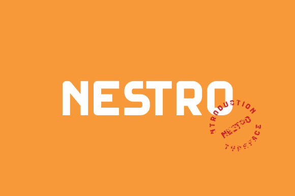 Print on Demand: Nestro Serif Font By kokostd