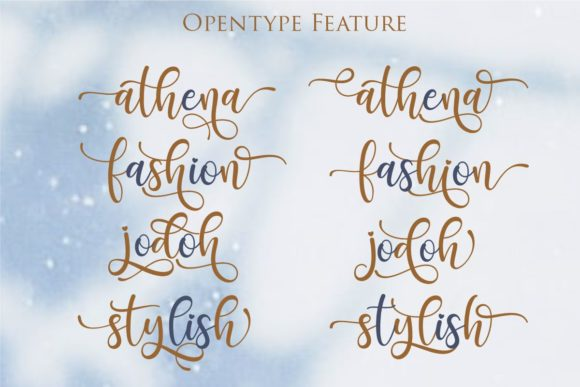 Print on Demand: Santhin Script & Handwritten Font By Gilar Studio - Image 5